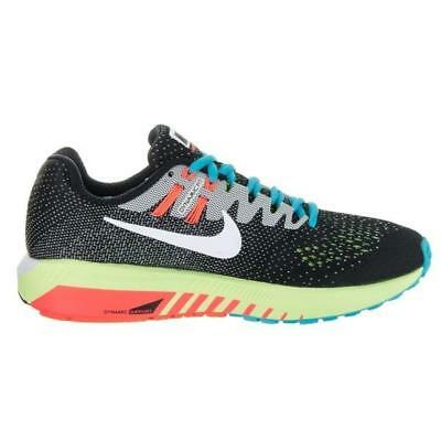 detailed look a37ae ecdf9 Womens NIKE AIR ZOOM STRUCTURE 20 Black Running Trainers 849577 018