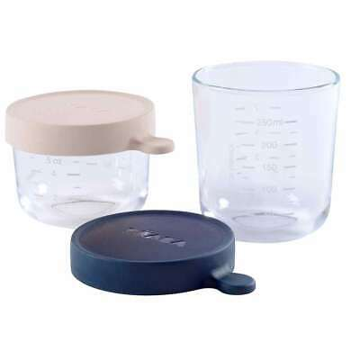 Set 2 Botes Cristal 150ml/250ml Azul