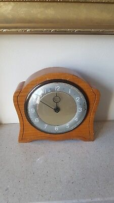 Smiths Of Enfield Small Mantel Clock - 4 Jewel