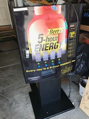 Seaga 5 Hour Energy Machines Lots of 10 Machines