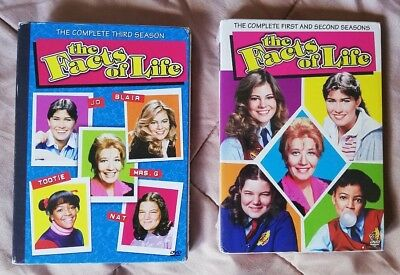 Teh Facts of Life DVD Season 1, 2 and 3