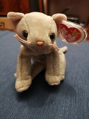 ce6b6cfd8ea TY BEANIE BABY Scat - Cat - Retired - £2.00