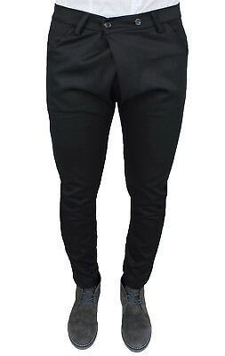 MEN/'S TROUSERS BATTISTINI JEANS CARGO RED SLIM FIT TIGHT 100/% MADE IN ITALY