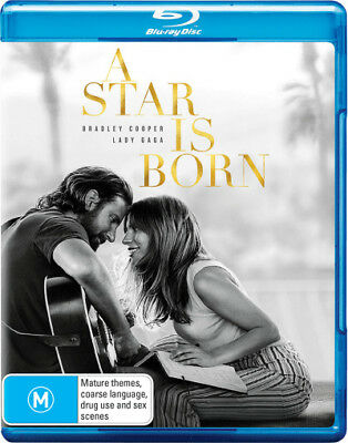 A Star is Born (2018)  - BLU-RAY - NEW Region B