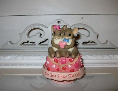Charming Tails Our Love Takes The Cake Hamilton Sweet Romance Valentines Day