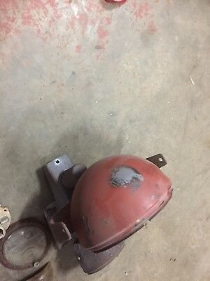 Original nuffield tractor Ploughing Light