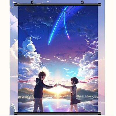 Japan Anime Your Name (Kimi no Na wa) Poster Wall Scroll painting Hanging HOT