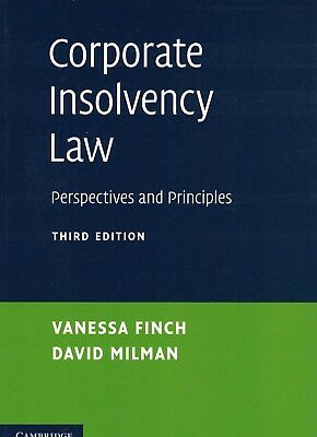 Corporate Insolvency Law: Perspectives and Principles by Finch 9781107629554