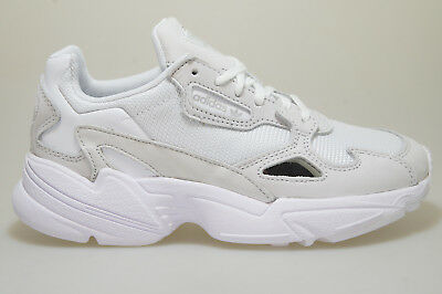 5f07826ffd87 WOMENS ADIDAS FALCON Trainers White White Crystal White F Trainers ...
