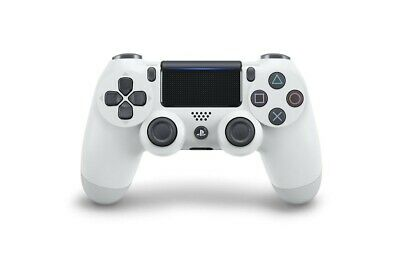 Controller Wireless V2 Dualshock 4 Glacier White Bianco Per Sony Ps4