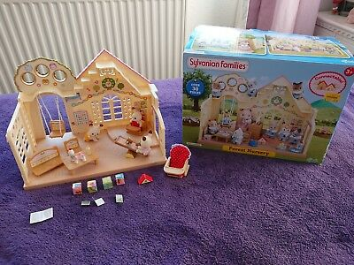 Sylvanian families forest nursery with 3 babies