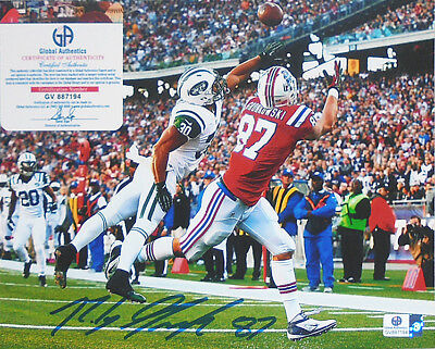 Great -Rob Gronkowski- New England Patriots Certified Signed/Autograph Photo