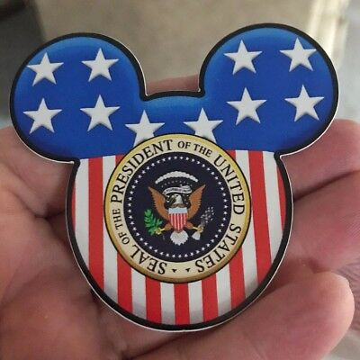 POTUS Tribute Sticker Donald Trump Decal Mickey Mouse Club Disney Parody