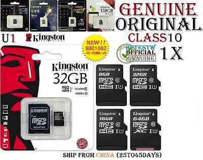 GENUINE Kingston 8GB 16GB 32GB 64GB Micro sd card Memory MicroSd Memoire Clas10