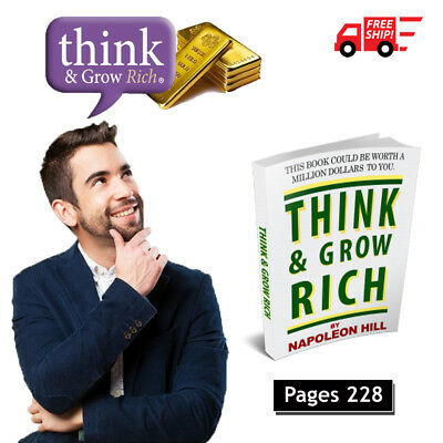 Think and Grow Rich by Napoleon Hill PDF ebook with Resell Rights Free Shipping