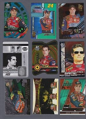 Jeff Gordon 29 Card Regular & Insert Lot Mostly Inserts