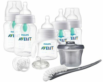 236f039bea9 Philips Avent Anti-colic Baby Bottle with AirFree vent Beginner Gift Set.