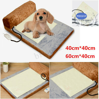 Pets Electric Blanket Heating Pads Cat Dog Bed Whelping Puppy Heat Pad Mat New