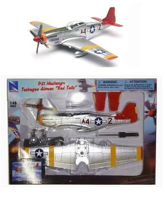 Maquette P-51D Mustang Tuskegee Red Tail Model kit 1/48 P51