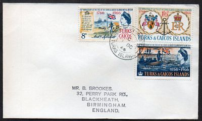 Turks & Caicos Islands - 1966 200th Anniversary of GB Ties, First Day Cover