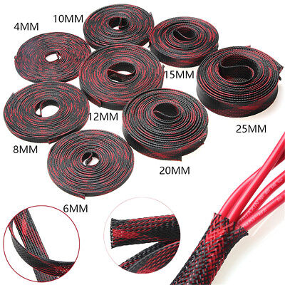 5/10M 4-25mm Braided Expandable Cable Sleeve Wire Harnessing/Sheathing Tubing