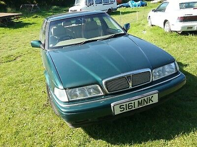 Rover Sterling, rare 2.0 manual gearbox with leather interior and all usual spec