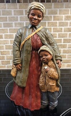 Martha Holcombe Harriet Tubman and Daniel Figurine All Gods Children