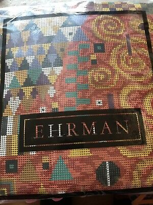 Ehrman Wool Tapestry Klimt Coral By Candace Bahouth