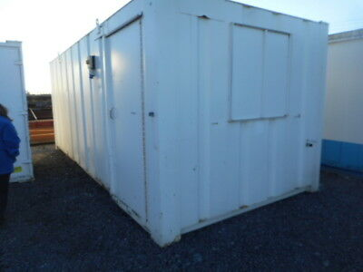 21' x 9' anti vandal site office canteen portable building container £2750 + VAT