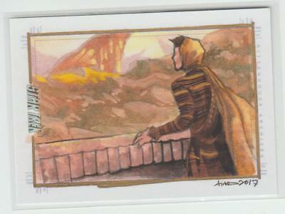Star Trek Beyond Rittenhouse Sketchafex Sketch Card Artist Signed Irma Ahmed