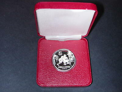China - Silber Münze - 20 Yuan 1980 Olympics Wrestling - PP