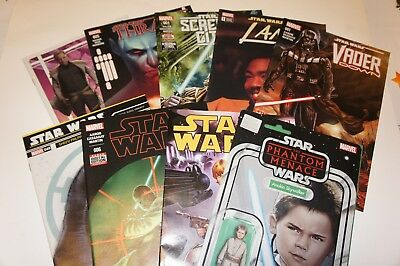 Star Wars Mixed Modern Lot 9 Issues