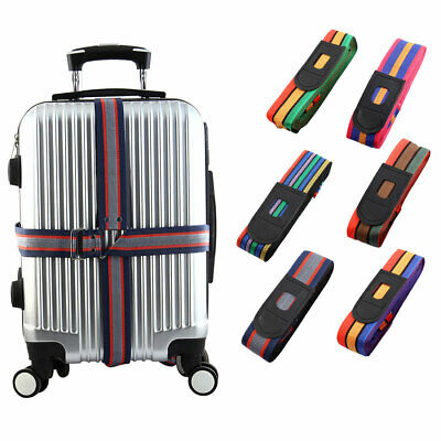 Camping Suitcase Packing Band Baggage Strap Travel Bag Safty Belt 4m Length 4pcs