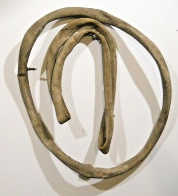 Pair of Antique Bicycle Single Tube Tire Vintage wall hanger old wood Wheel