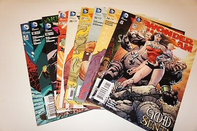 Wonder Woman Mixed Lot 10 Issues #7 #9 #16 #21 #26 #27 #32 #34 #43 #49 New Dc52