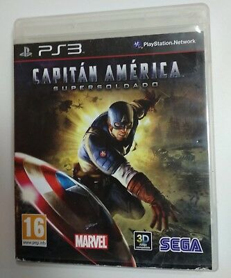 Juego Ps3 Capitan America Supersoldado Ps3 Pal España