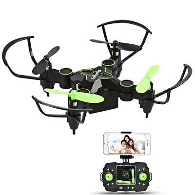 Mini Drone with Camera Foldable RC Drone Nano Quadcopter 720P 2.4GHz 4CH 6-Axis