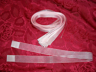 475 Approx Lengths Baby Pink Striped Cake/Craft Ribbon 69 x 2.5 cm Each Length