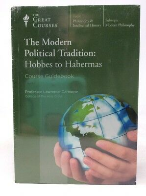 Teaching Company The Modern Political Tradition: Hobbes to Habermas Audio CDs