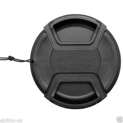 72mm Front Lens Cap Cover Snap-on For Canon,Sony,Nikon,Olympus,Fuji,Pentas,UK