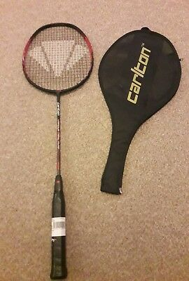 Carlton Vapour Trail Pure Badminton Racket  NEW  BUT BROKEN TOP STRING