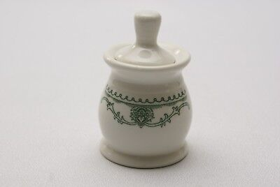 Hard to find Vintage Homer Laughlin Best China Condiment Jar with dipper