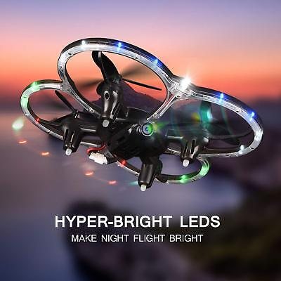 Mini Drone RC Quadcopter for Kid Altitude Hold 6-Axis Gyro 4CH 2.4Ghz Helicopter