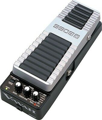 Boss Pw-10 V-Wah Virtual Wah & Distortion Guitar Effects Expression Pedal