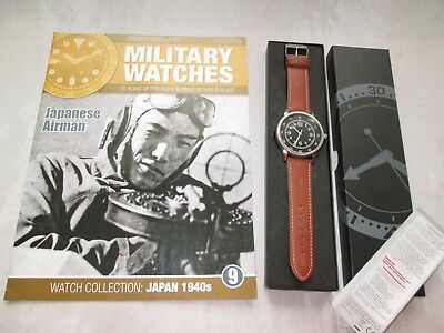 EAGLEMOSS MILITARY WATCH JAPANESE AIRMAN NAVY 1940s ISSUE 9 COLLECTORS WATCH