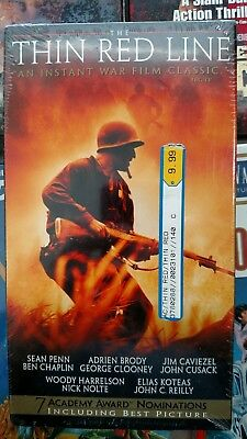 The Thin Red Line (VHS, 1999) New, Sealed, Mint, Free Shipping