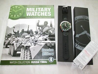 EAGLEMOSS MILITARY WATCH RUSSIAN FORCES 1980s ISSUE 4 COLLECTORS WATCH