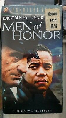 Men of Honor (VHS, 2001, Premiere Series) New Sealed Mint, Free Shipping