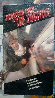 The Fugitive (VHS, 1994) New, Sealed, Mint, Free Shipping