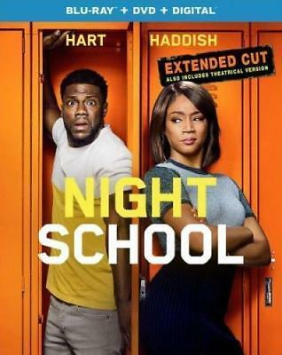 Night School Extended Cut Blu-ray + DVD + Digital BRAND NEW, KEVIN HART, SLIP